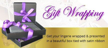 Luxury Lingerie gift wrapping service
