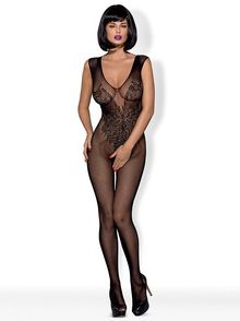 Open Crotch Sleeveless Body Stocking N112