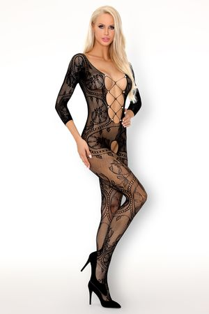 Fainam Bodystocking with Pearls