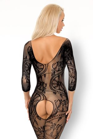 Fainam Bodystocking with Pearls close-up (reverse)