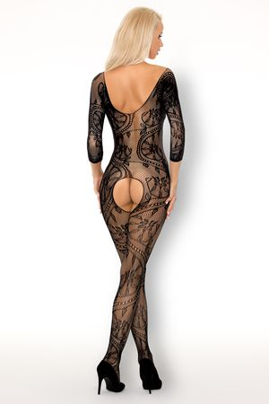 Fainam Bodystocking with Pearls (reverse)